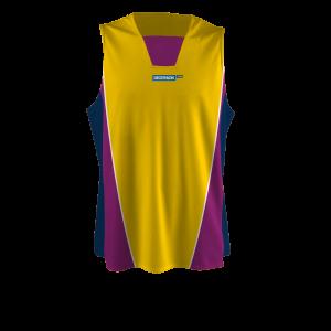 Camiseta de baloncesto personalizada hombre