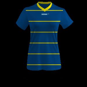Camiseta de fútbol personalizada mujer