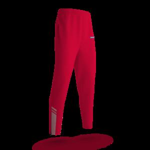 Pantalón de chándal pitillo personalizado con cremallera--CH03